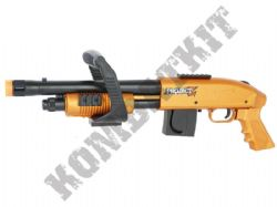 ProjectZ Chainsaw Airsoft BB Gun Black and Bronze